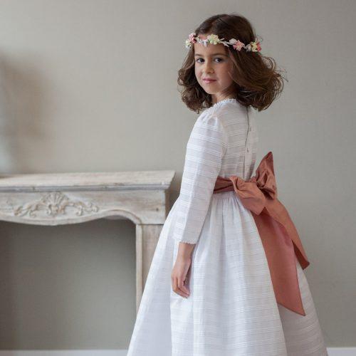Vestido Primera Comunión modelo Blanca