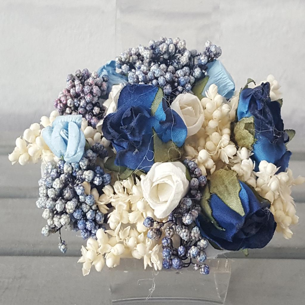 Pasador Rosas Azules
