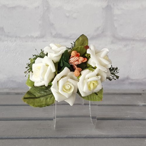 Pasador Rosas Blancas