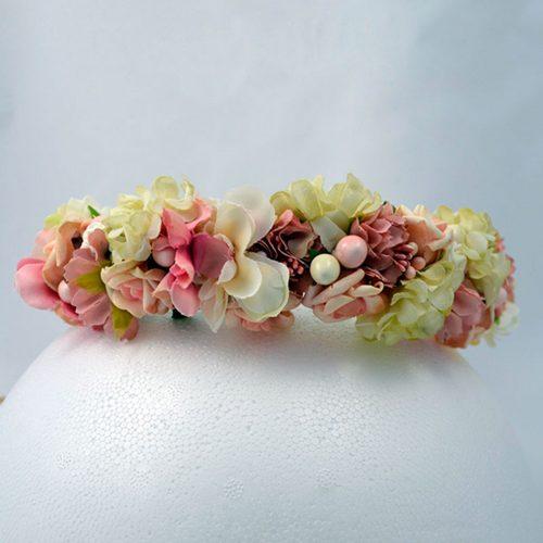 Corona Flores Lila